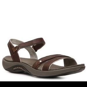Merrell leather strappy sandals